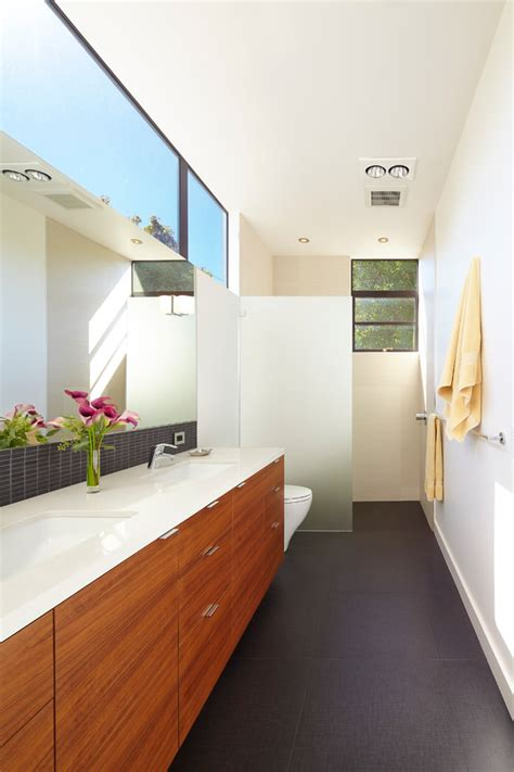 Bathroom Tile Ideas Black And White 25 narrow bathroom designs decorating ideas design