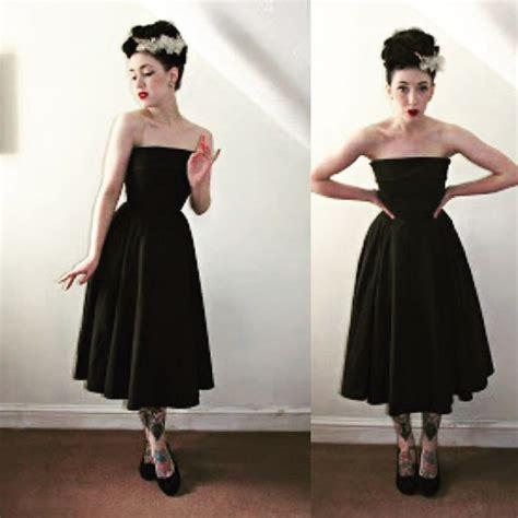 Pin Up Closet by Dress Style Icons Closet Black Dress Black Dress