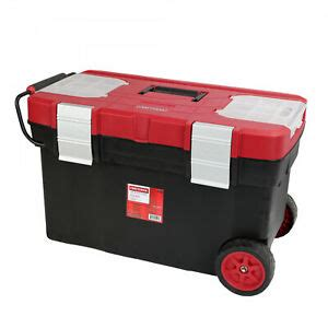 craftsman rolling storage tool box wide mobile chest