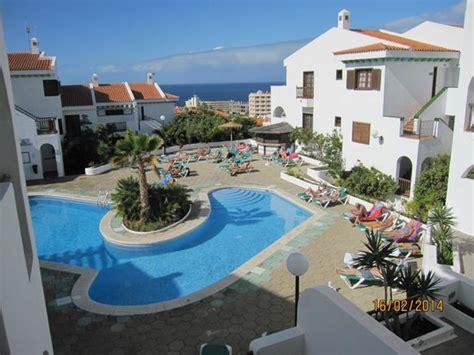 Garden Apartments Tenerife Utsikt Fra Balkong Picture Of Blue Sea Callao Garden