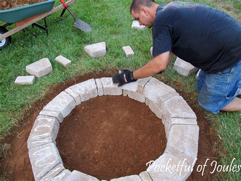 how to make a simple fire pit in your backyard how to make an easy fire pit fireplace design ideas