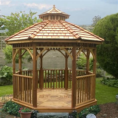 wood gazebo stunning wood octagon gazebo design