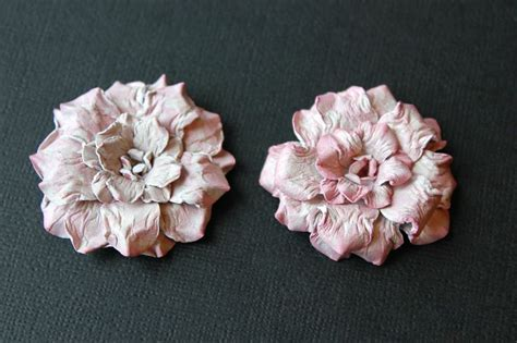 Handmade Paper Flowers Tutorial - 25 best ideas about handmade flowers on