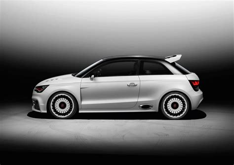 500bhp Audi A1 Clubsport quattro official pictures Pictures Evo