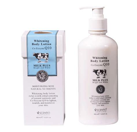 Milk Plus Whitening buffet scentio milk plus whitening q10 lotion
