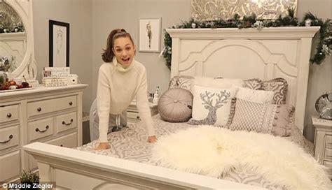 Deer Bed Maddie Ziegler Takes Fans Inside Her Lavish Bedroom