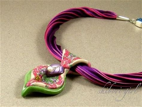Fabworthy Yarborough Silk Satin Ribbon Jewelry by How To Make Shibori Silk Ribbon Necklace Kate Tracton And