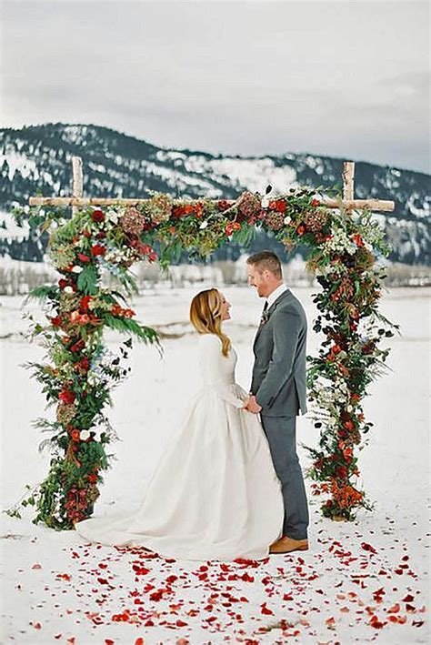 17 Best images about Rustic Winter Wedding on Pinterest