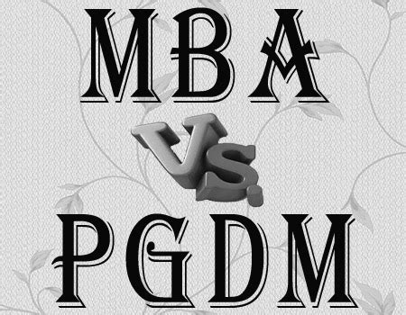 Pgdm And Mba Difference by Mba Archives Pentagon Education Services