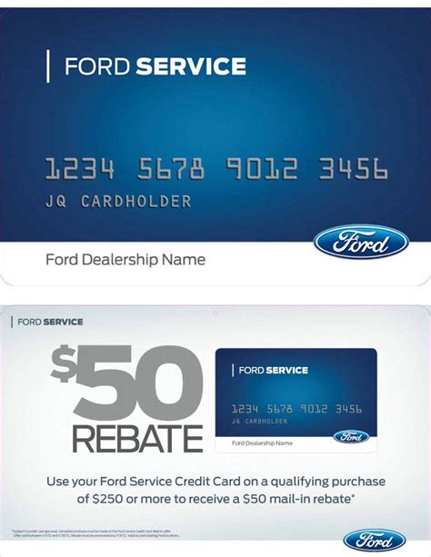 service card ford card service account autos post