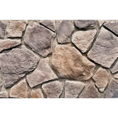 Wall Panels For Kitchen Backsplash shop m rock woodland field 48 sq ft brown stone veneer at