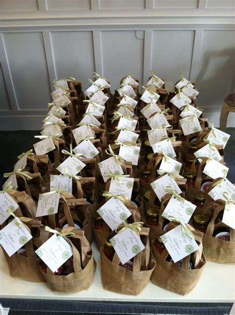 dinner guest gift sd events rustic favor idea