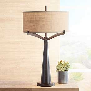 table lamps for bedrooms table lamps for bedroom living room and more lamps plus 17454 | table lamps bronze 0227