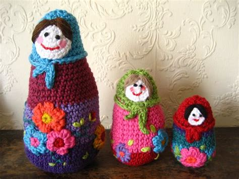 russian doll knitting pattern knitting knitted and crocheted russian dolls