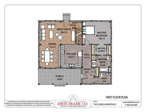 small timber frame floor plans barn house plans classic homestead floor plans 1 davis