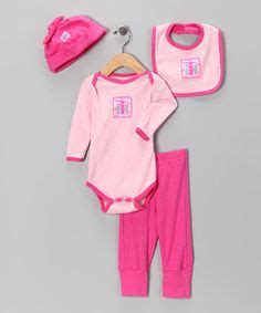 Take a look at this pink amp fuchsia ih logo layette set infant by international harvester on