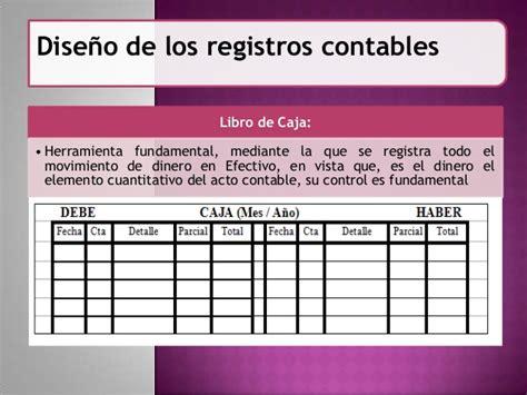 libro el registro de la registros contables