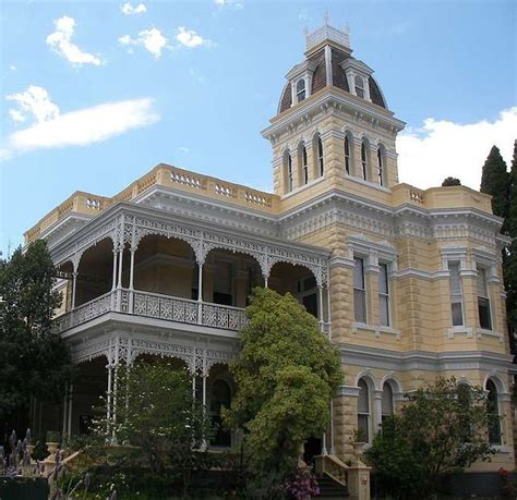 Architectural Style Of House Second Empire Style Goodrest Cnr Leopold And Toorak