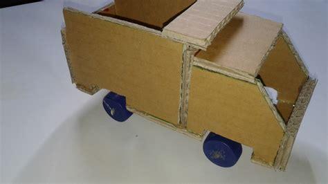cara membuat kerajinan mainan dari kardus ide kreatif membuat mobil mainan dari kardus bekas youtube