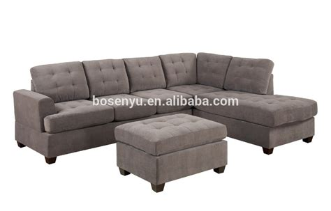 Modern Modular Sofa Cheap Grey Sectional Sofa