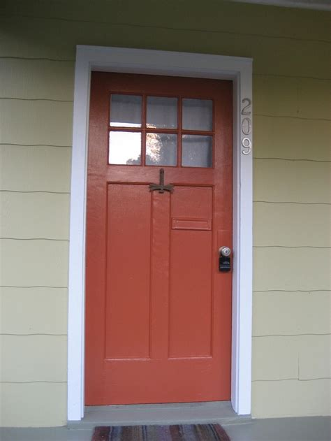 sherwin williams jalapeno paint orange front door home front door color ideas