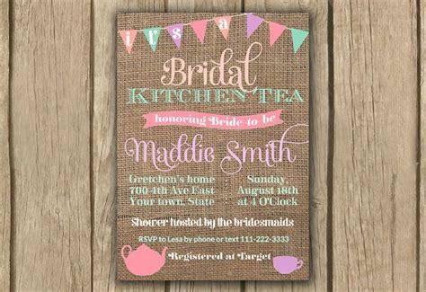 kitchen tea invites ideas best 25 kitchen tea invitations ideas on