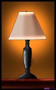 how to draw a lamp step by step stuff pop culture free