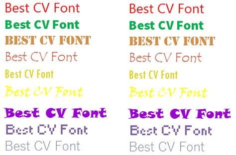 how to choose the best cv font forums learnist org