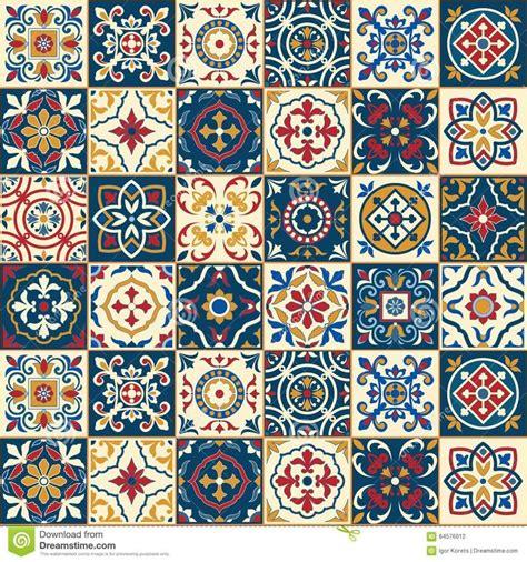 azulejo pattern gorgeous seamless pattern moroccan portuguese tiles