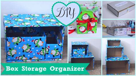 Kitchen Trash Can Ideas diy box organizer 5 storage project ideas cheap amp easy