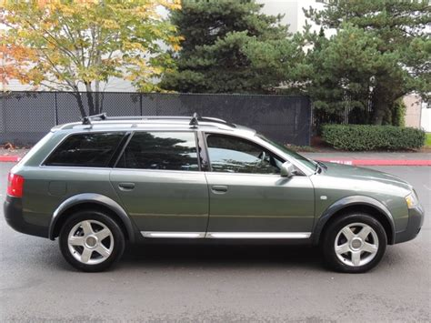 audi wagon sport 2001 audi allroad quattro sports wagon turbo leather
