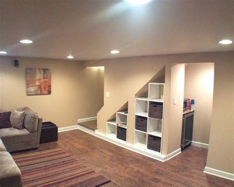 design my basement awesome understairs shoe storage designs traditional