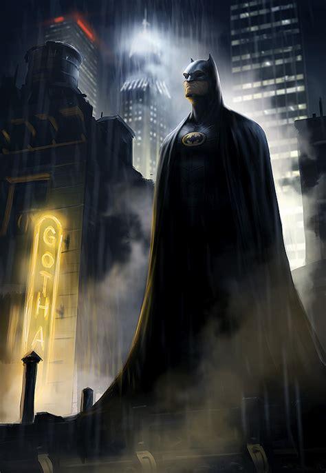 painting batman dsng s sci fi megaverse batman and 2012