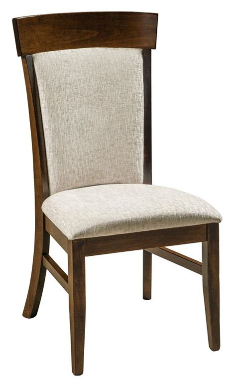 amish dining room chairs riverside upholstered dining room chair from dutchcrafters