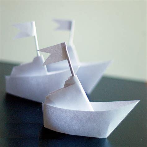 Pliage De Serviette En Bateau by Pliage Bateau Origami