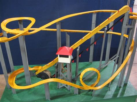 Coasters Diy by Motorized Marble Roller Coaster