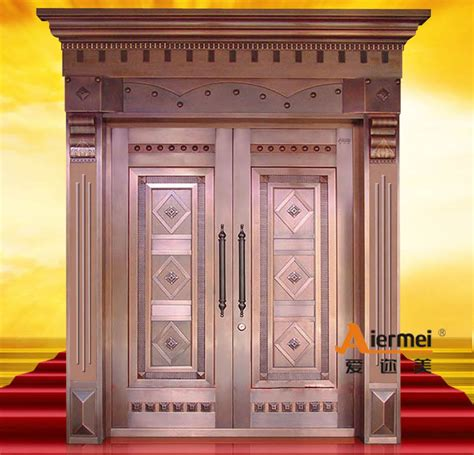 main door designs security copper double door design main entrance door