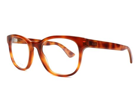 gucci eyeglasses gg 0005 o 012 brown visionet