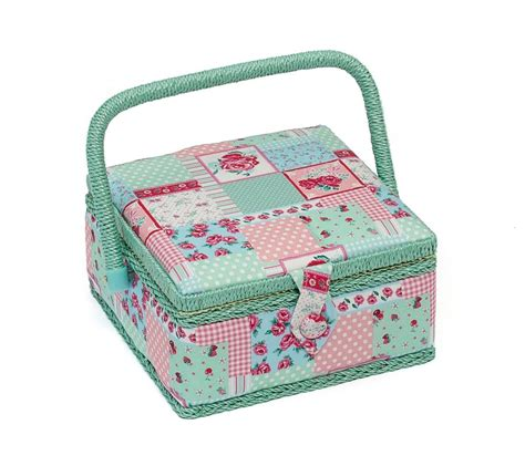 Patchwork Supplies Uk - patchwork small sewing box accessories hobby gift mrs 36