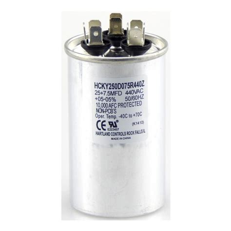 westinghouse 3 mfd and 6 5 mfd fan capacitor 7709100 the