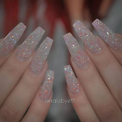 Glitter Nail by 25 Best Ideas About Matte Nails Glitter On