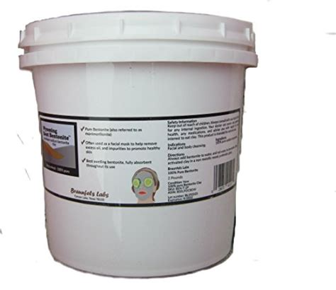 Compare Zeolite Bentonite Clay Detox Bath by 2 Pounds Bentonite Clay Detox Vapor Lock Tub