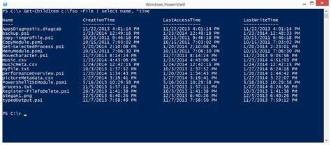 format date shell powershell get date format