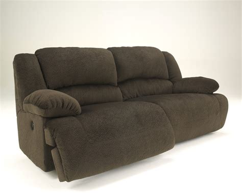 toletta chocolate 2 seat reclining power sofa