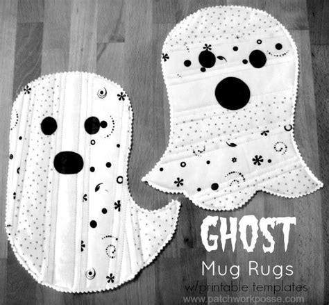 whatsapp ghost tutorial free sewing pattern ghost mug rug i sew free
