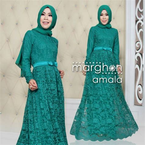 Gamis Murah Thamrin City baju busana muslim modern terbaru trendy margon amala