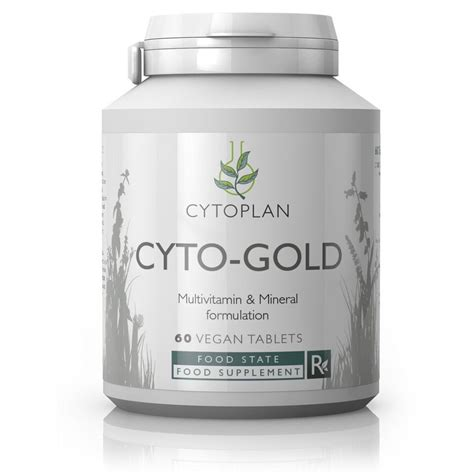 50 Day Mineral Detox Reviews by Cyto Gold One A Day Multivitamin Mineral Cytoplan