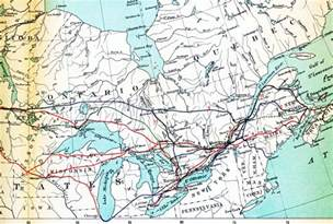 Canada Train Map by Canadian National Railway Route Map Images