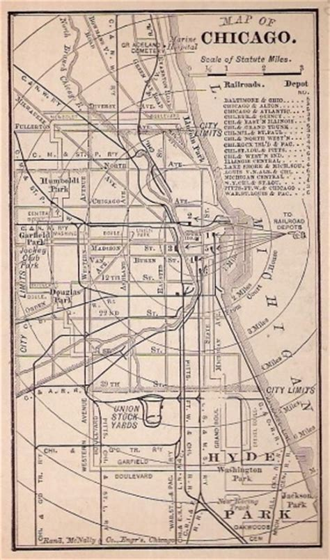 chicago railroad map designspiration and railroad map chicago il