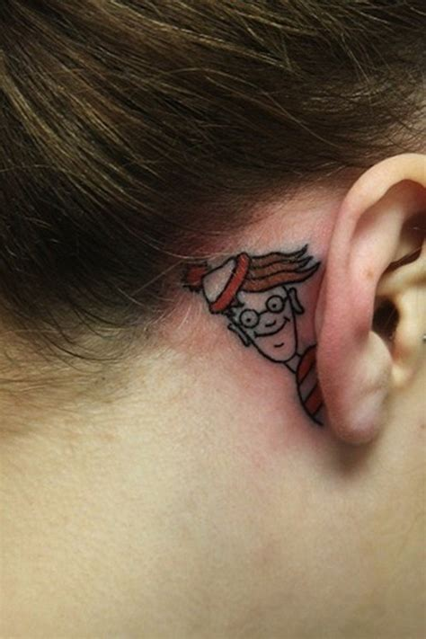 behind the ear tattoos pain the ear 55 different suggestions